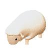 Tiny Sheep : Pet Sim on a Farm messages sticker-1
