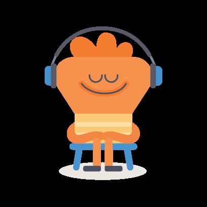 Headspace: Meditation messages sticker-0