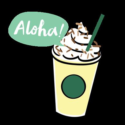 Starbucks China messages sticker-4