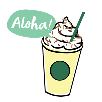 Starbucks China messages sticker-4
