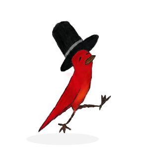 Striding Bird - An inspirational tale for kids messages sticker-0
