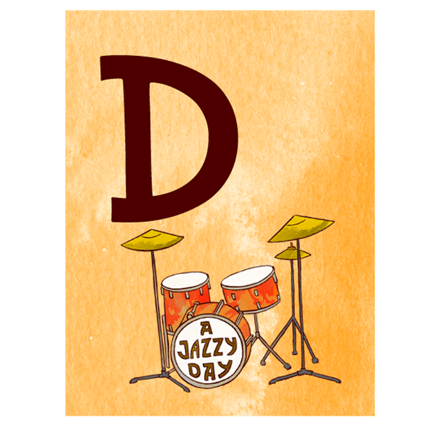 Jazzy ABC - Music Education messages sticker-3