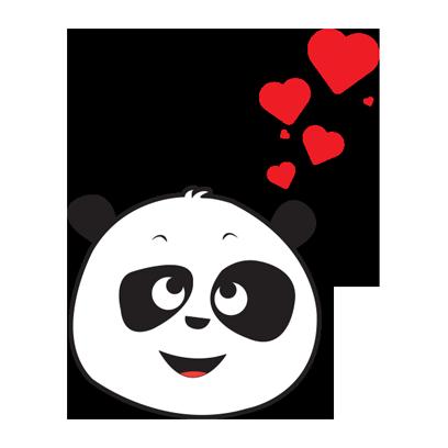 Parking Panda messages sticker-5