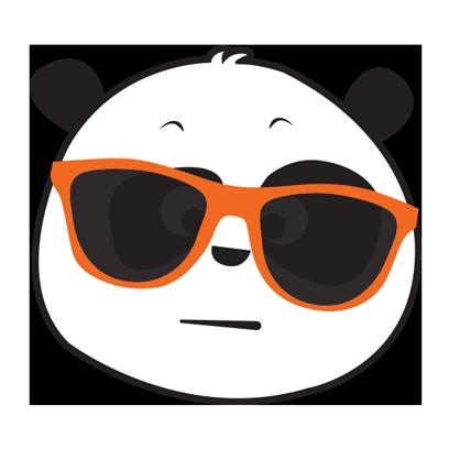 Parking Panda messages sticker-2