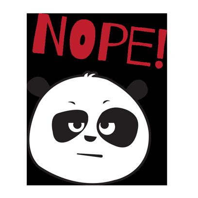 Parking Panda messages sticker-10
