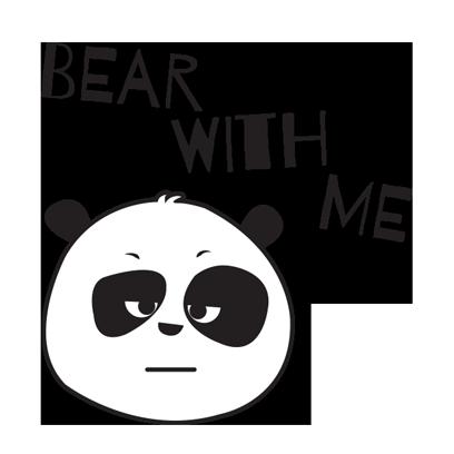 Parking Panda messages sticker-0