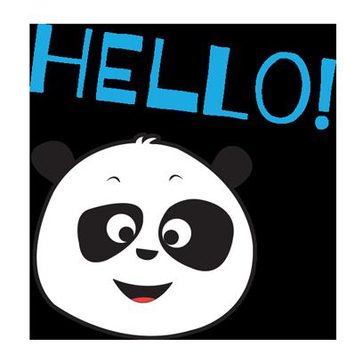 Parking Panda messages sticker-6