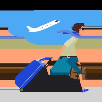 eDreams: Book cheap flights messages sticker-6