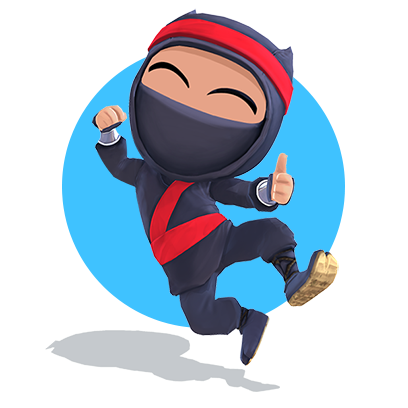 Clumsy Ninja messages sticker-3