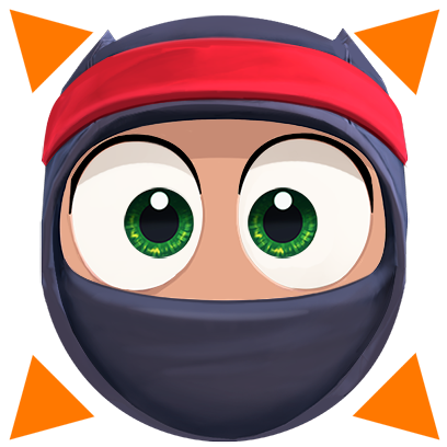 Clumsy Ninja messages sticker-11