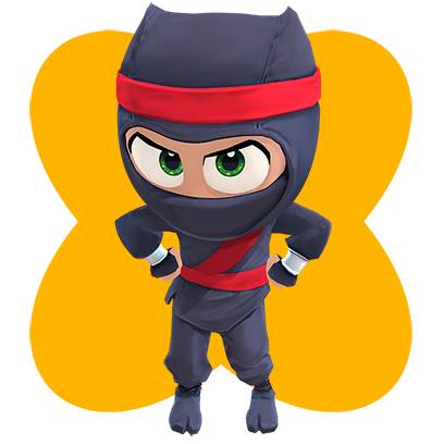 Clumsy Ninja messages sticker-1