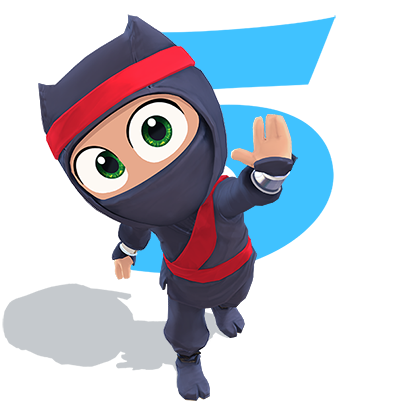 Clumsy Ninja messages sticker-4