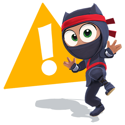 Clumsy Ninja messages sticker-10