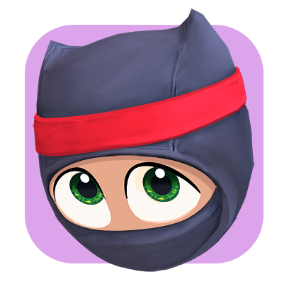Clumsy Ninja messages sticker-9