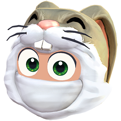 Clumsy Ninja messages sticker-0