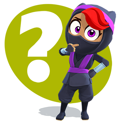 Clumsy Ninja messages sticker-7