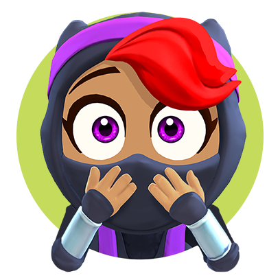 Clumsy Ninja messages sticker-6
