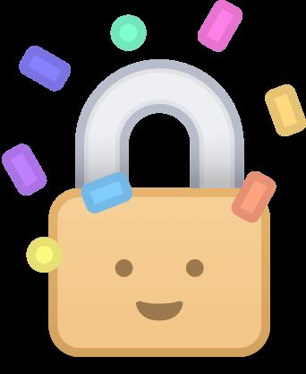 1Password - Password Manager messages sticker-5