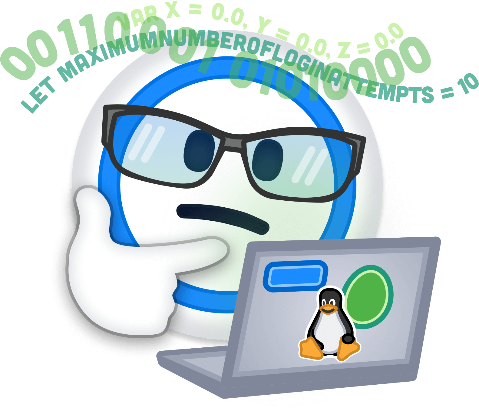 1Password - Password Manager messages sticker-4