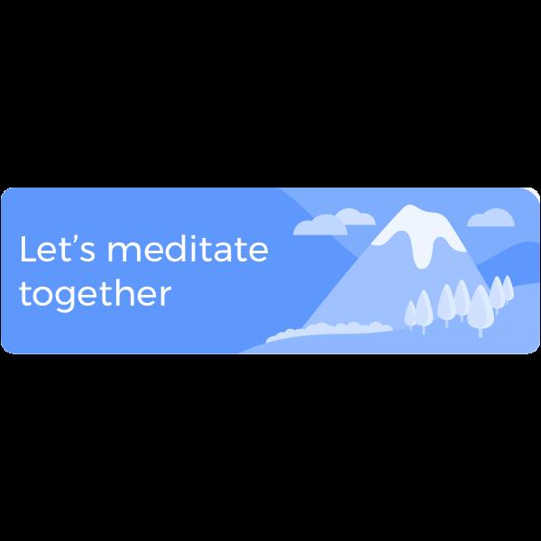 Guided Mindfulness Meditation messages sticker-5