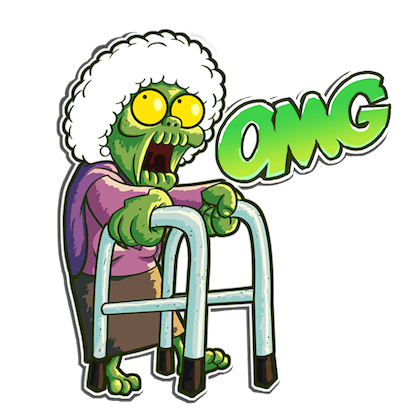 I Hate Zombies™ messages sticker-5