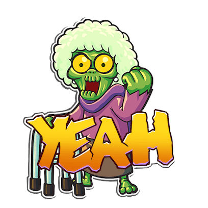 I Hate Zombies™ messages sticker-7