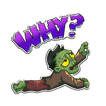 I Hate Zombies™ messages sticker-6