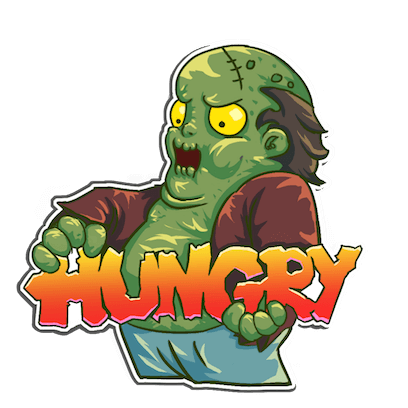 I Hate Zombies™ messages sticker-1