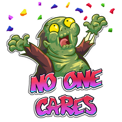 I Hate Zombies™ messages sticker-4