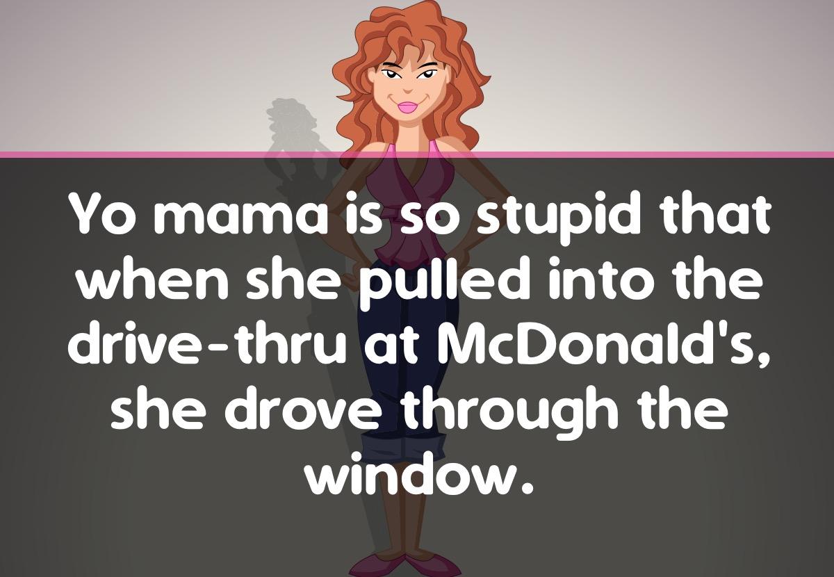 Yo Mama Jokes - Talk & Text messages sticker-0