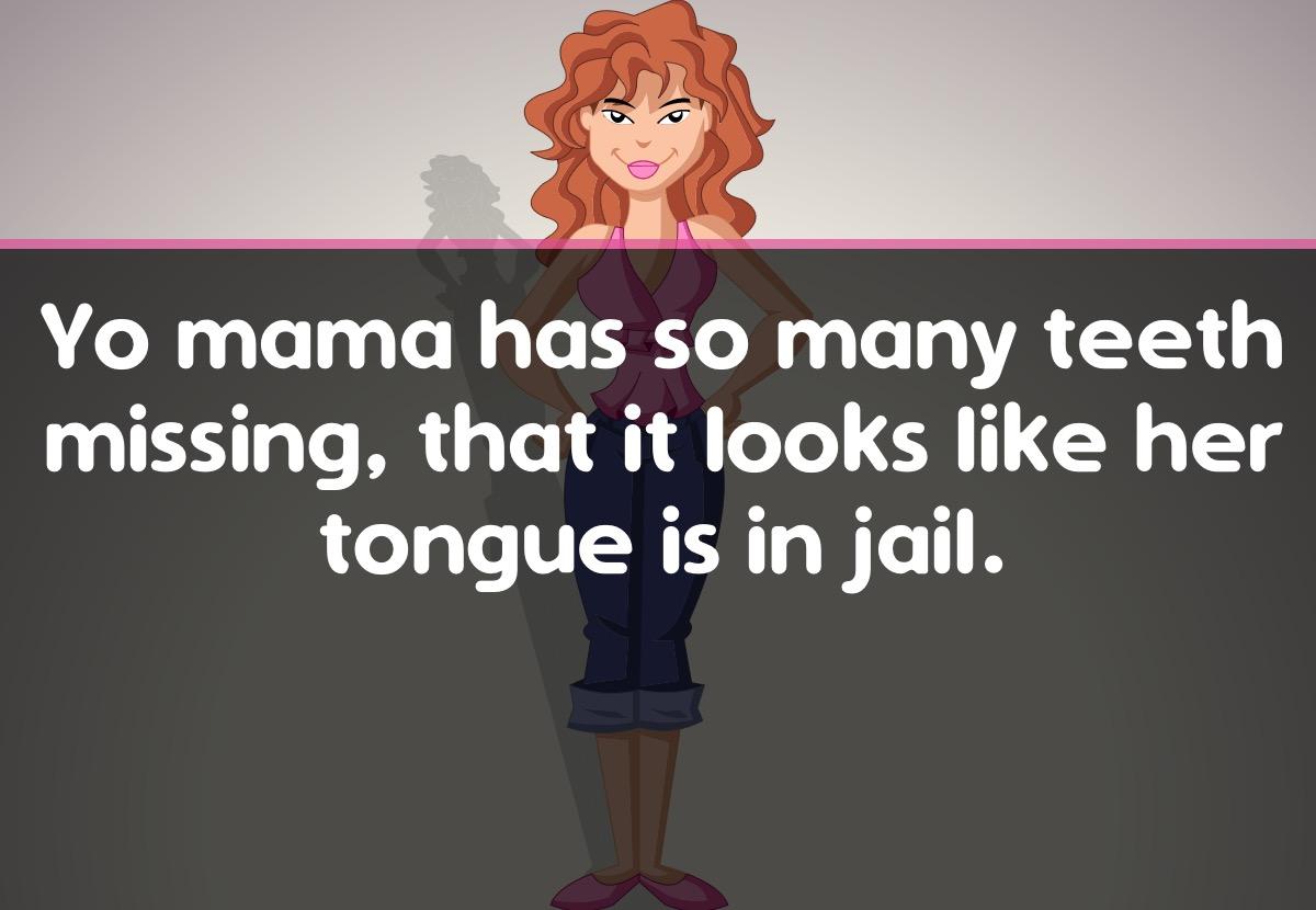 Yo Mama Jokes - Talk & Text messages sticker-4