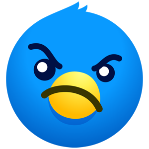 Twitterrific: Tweet Your Way messages sticker-9