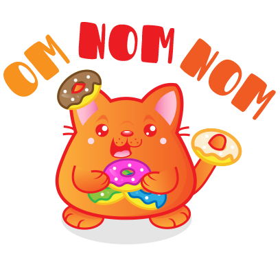 Kawaii Kitten Frenzy messages sticker-4