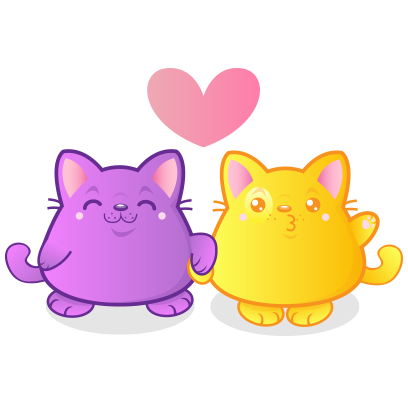 Kawaii Kitten Frenzy messages sticker-6