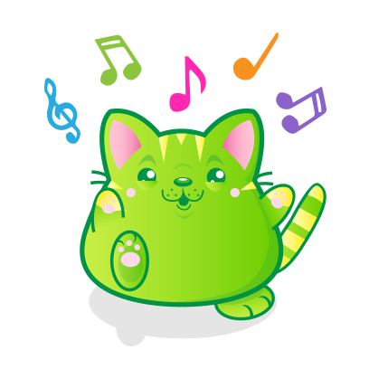 Kawaii Kitten Frenzy messages sticker-1