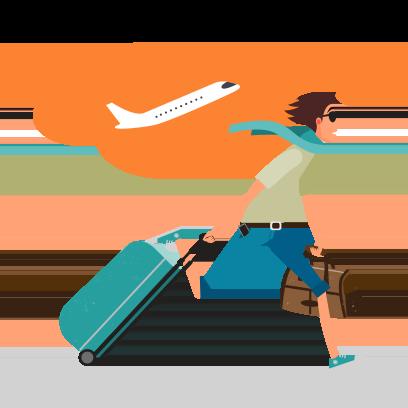 Opodo: Book cheap flights messages sticker-6