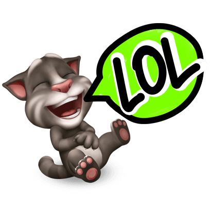 My Talking Tom messages sticker-1