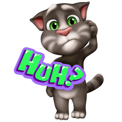 My Talking Tom messages sticker-5