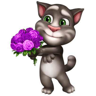 My Talking Tom messages sticker-3