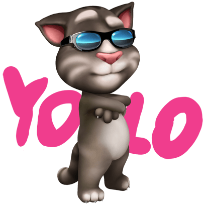 My Talking Tom messages sticker-4
