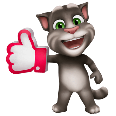My Talking Tom messages sticker-0