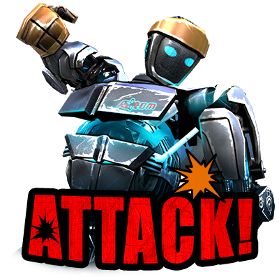 Real Steel World Robot Boxing messages sticker-11