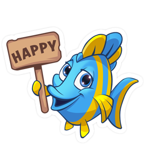 Fishdom messages sticker-7