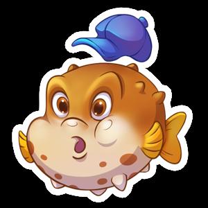 Fishdom messages sticker-9