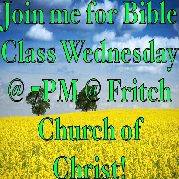 Fritch Church of Christ messages sticker-1