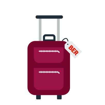 Berlin Airport (BER) messages sticker-6