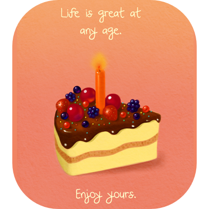 Birthday Cards for Friends & Family messages sticker-11