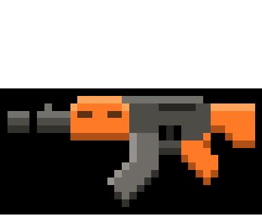 Cops N Robbers (FPS): 3D Pixel messages sticker-9