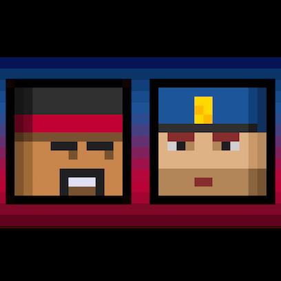 Cops N Robbers (FPS): 3D Pixel messages sticker-7