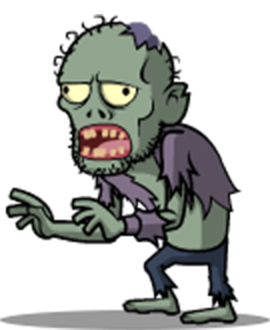 Zombies Run the Streets messages sticker-1
